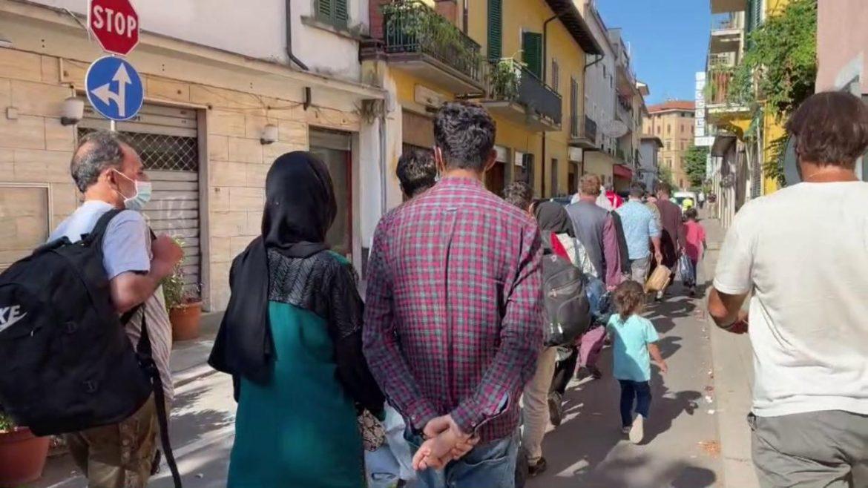 100 profughi afghani sono stati collocati a Montecatini